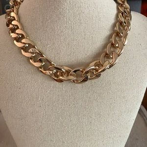 Forever 21 big gold chain NWT